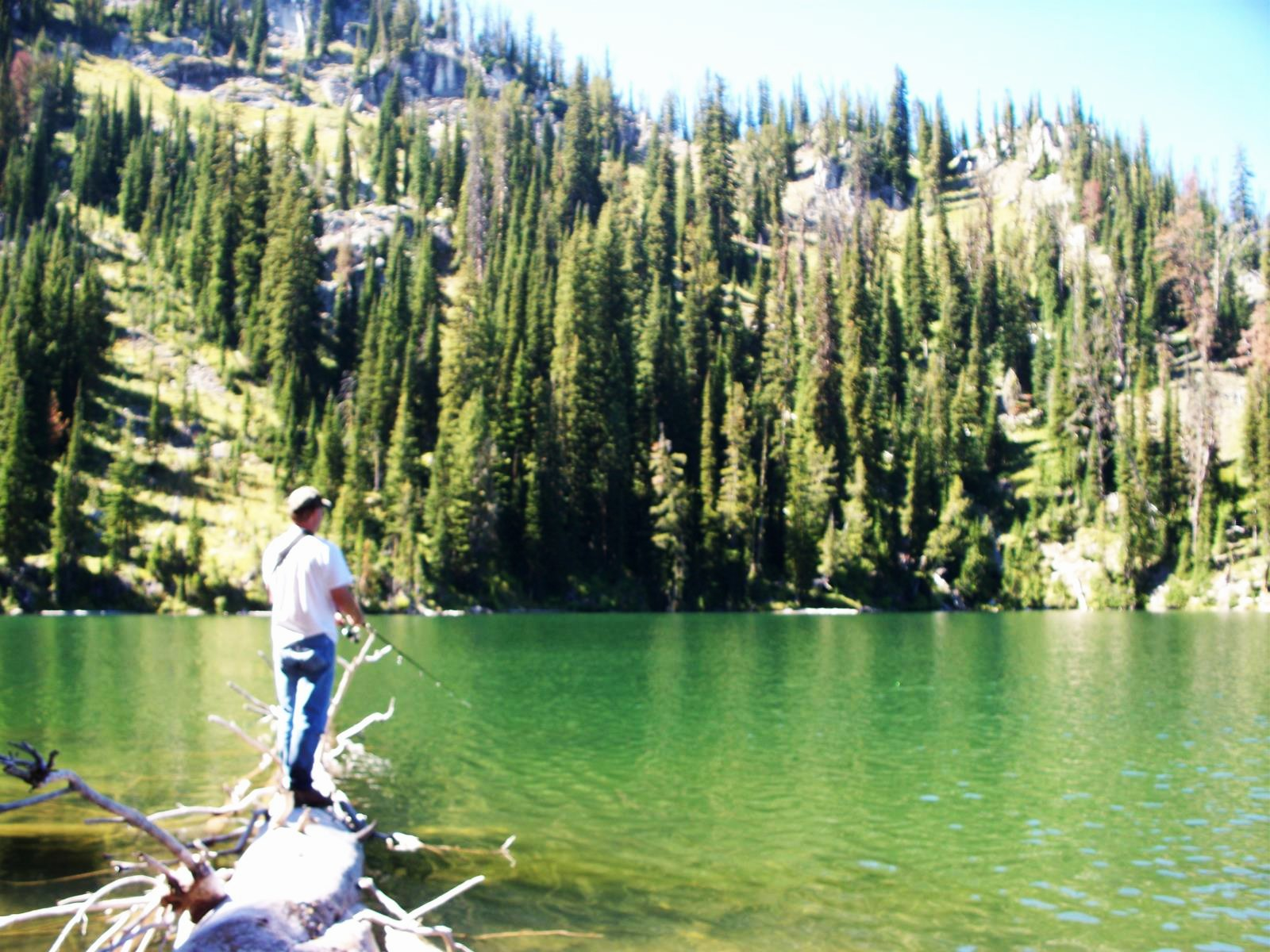 Fishing Faith Lake